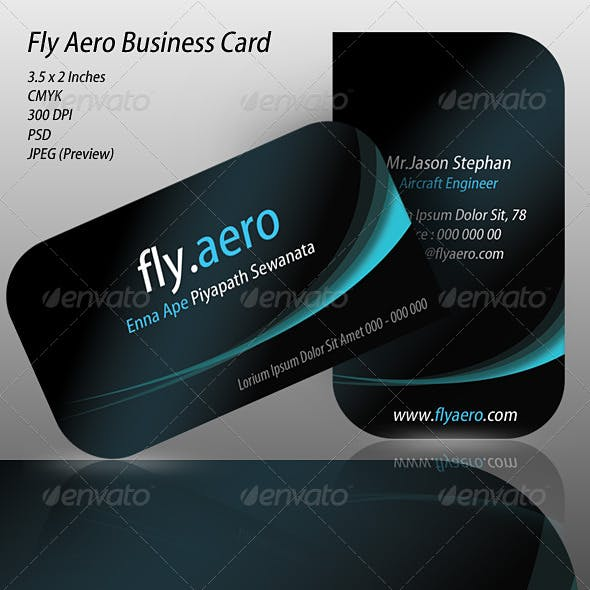 Fly Aero Business Card
