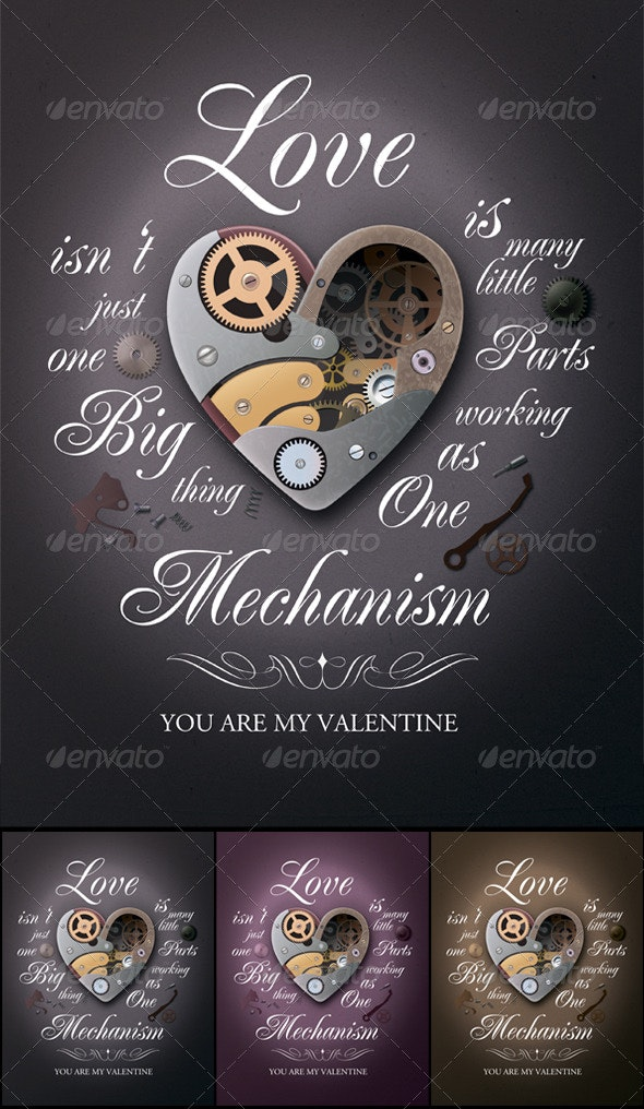 Valentine's Day Poster - Holidays Events