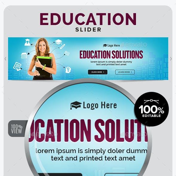 Education Slider