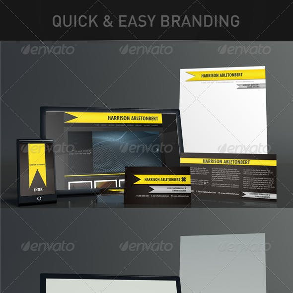 Quick and Easy Branding Mock-Up