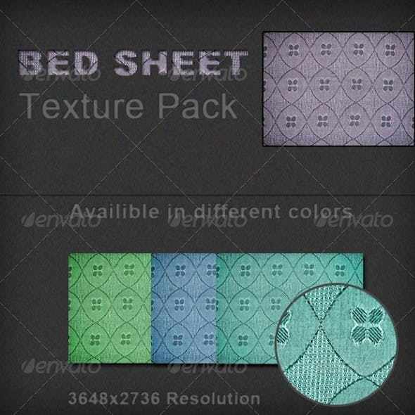 Bed Sheet Cloth Texture Pack
