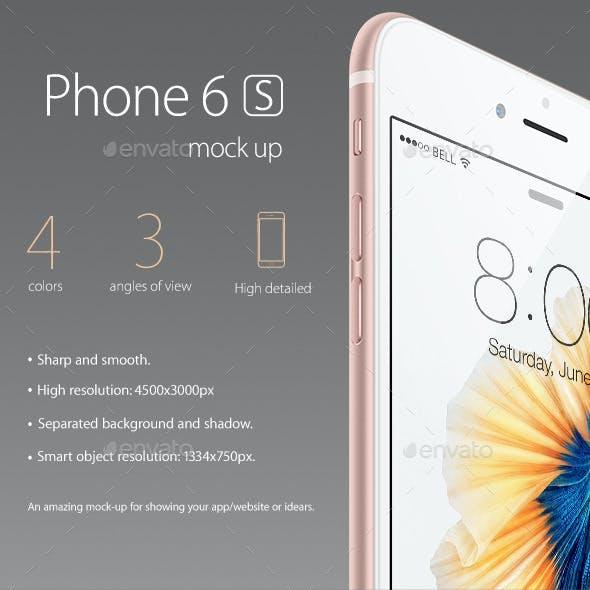 Phone 6s Mock-up