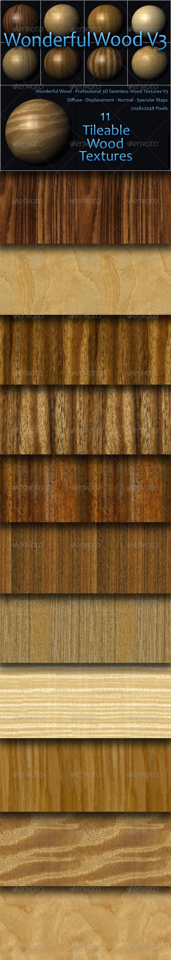 Wonderful Wood Volume Three - Wood Textures