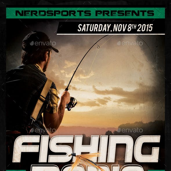 Fishing Manis Sports Flyer