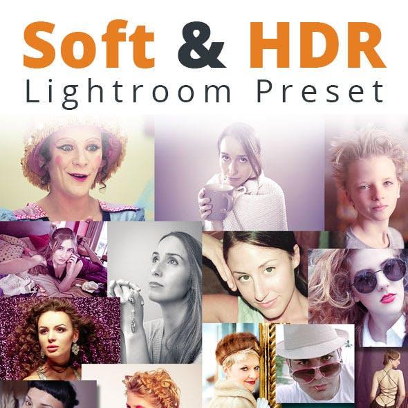 32 Soft & HDR Lightroom Preset