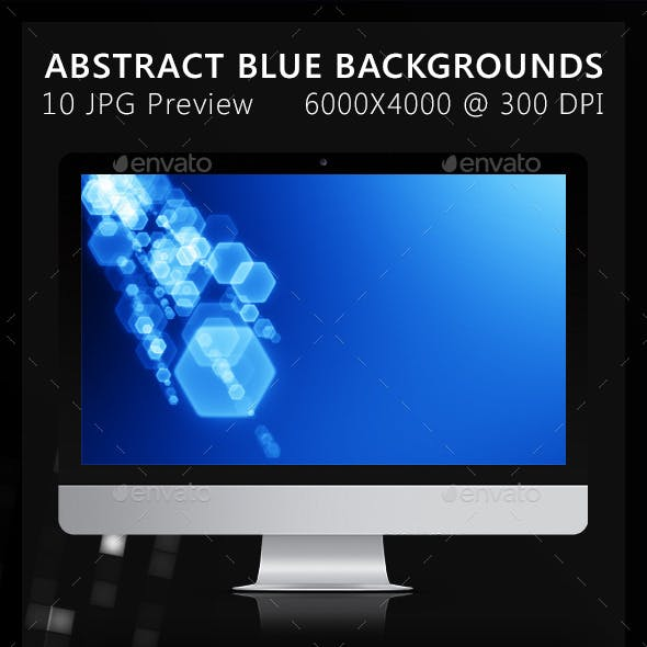 10 Abstract Blue Backgrounds
