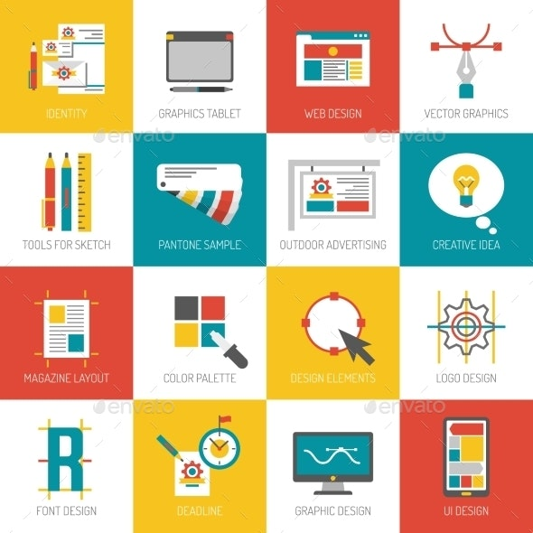 Graphic Design Icons - Technology Icons