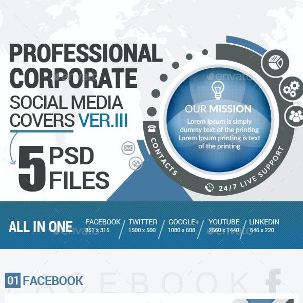 Social Media Covers Kit - III