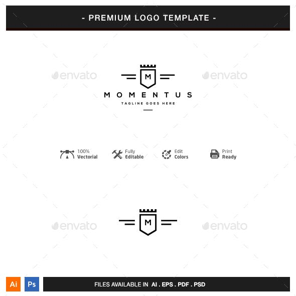 Crest Logo Template