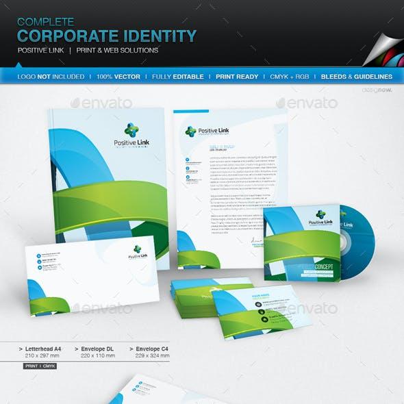 Corporate Identity - Positive Link