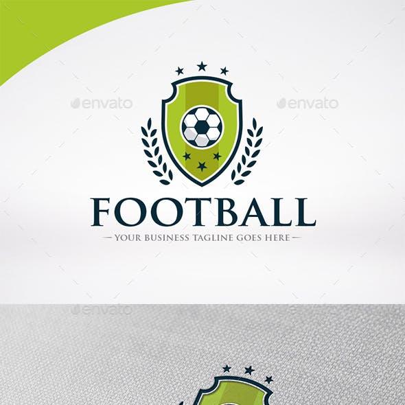 Football Shield Logo Template
