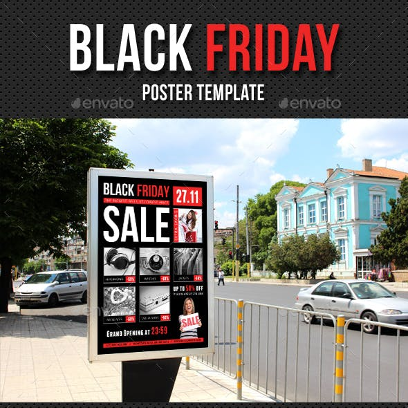 Black Friday Poster Template V01