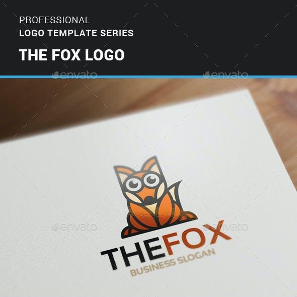 The Fox Logo Template