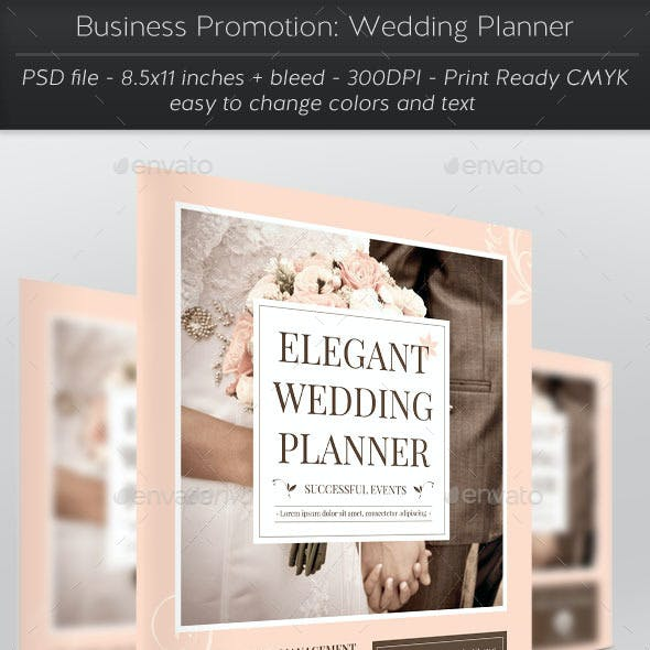 Business Promotion: Wedding Planner
