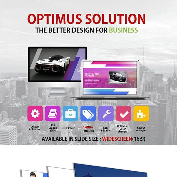 Optimus - Keynote Business Presentation