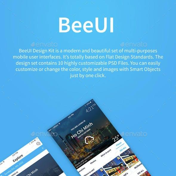 Travel App | BeeUI