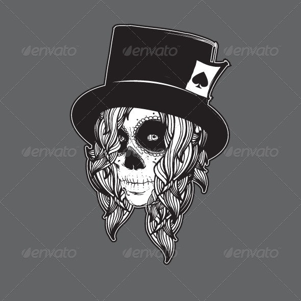 Dead Girl - Characters Vectors