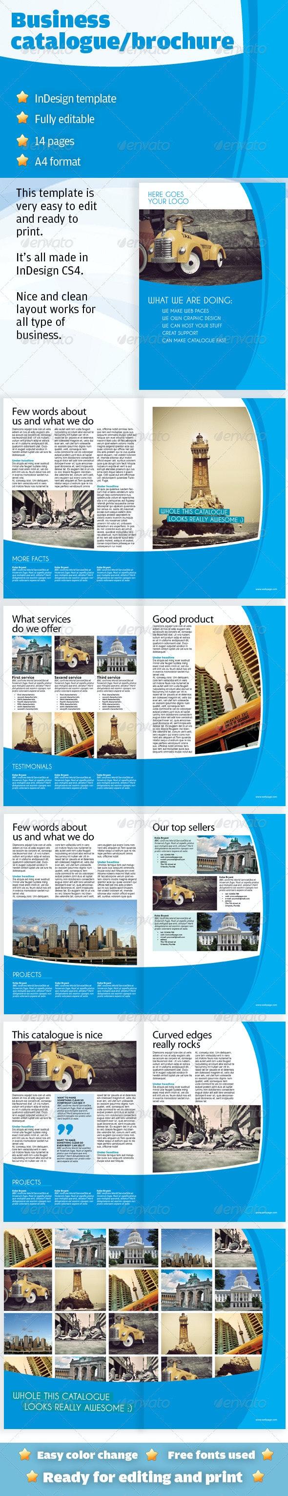 Clean Business Catalogue / Brochure - Catalogs Brochures
