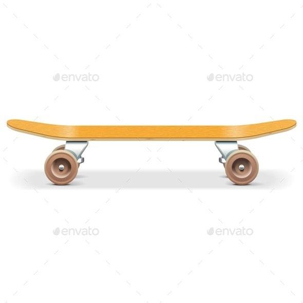 Vector Skateboard - Sports/Activity Conceptual
