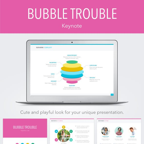 Bubble Trouble Keynote Template