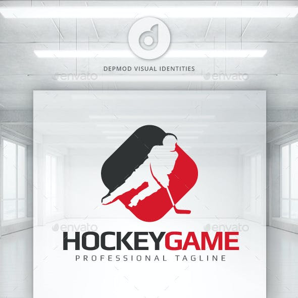 Hockey Game Logo