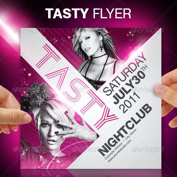 Tasty Party Flyer