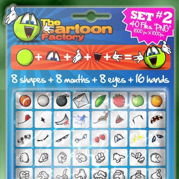 The Cartoon Factory ! Set #2