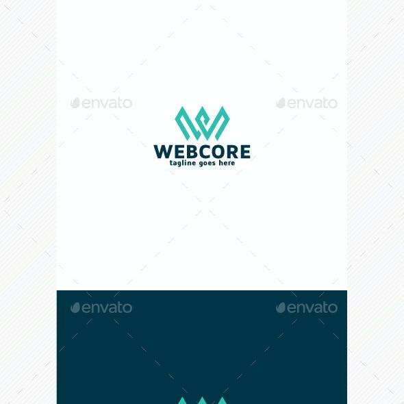 Web Core Logo • Letter W