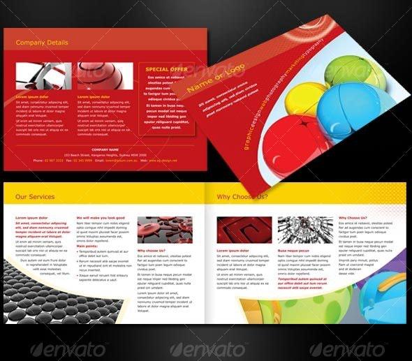 A5 landscape - 4 page  brochure - Corporate Brochures