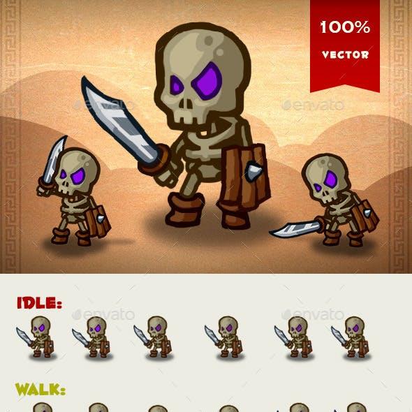 Skeleton Spritesheet 01