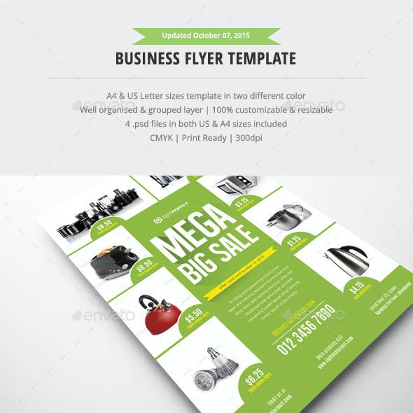 Business Flyer Ads Template