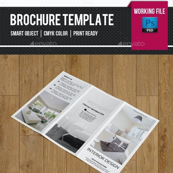 Minimal Interior Trifold Brochure-V259