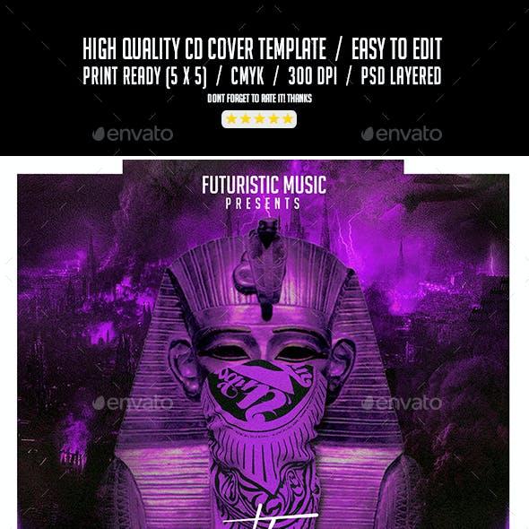 The Pharaoh   Mixtape Tape Album CD Cover Template