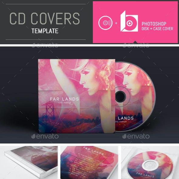 Emotional DJ / Musician CD Cover Template