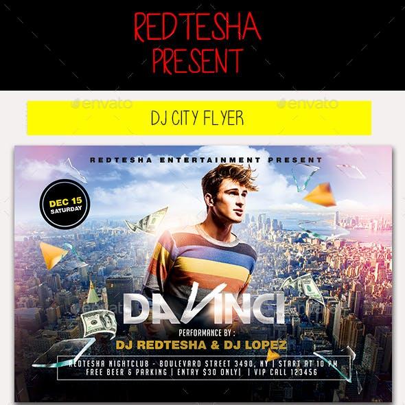 DJ City Flyer