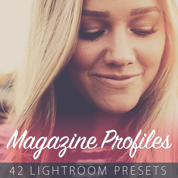 42 Magazine Profiles - Lightroom Presets