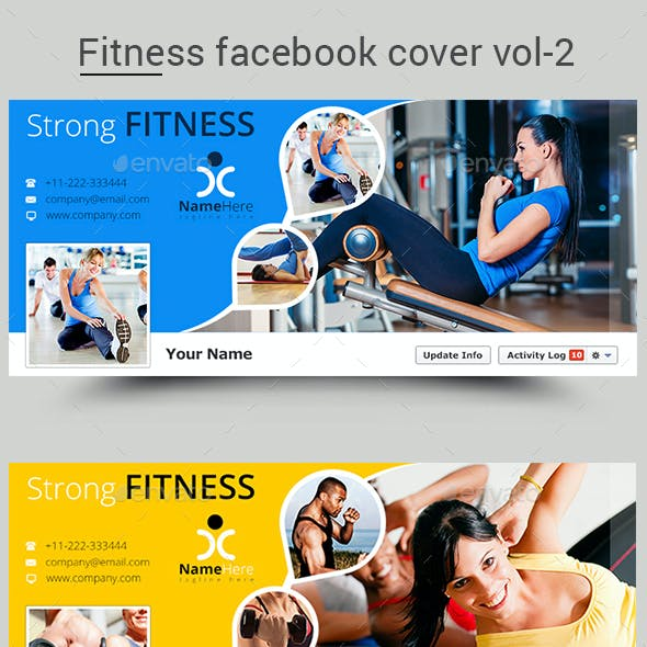 Gym Web Elements From Graphicriver Page 8