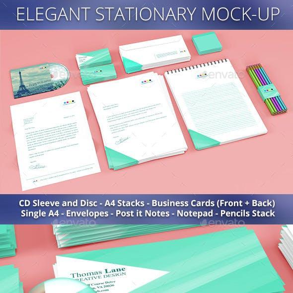 Stationary Mockup
