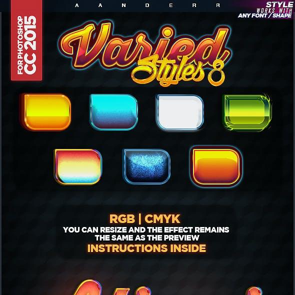 Varied Styles 8