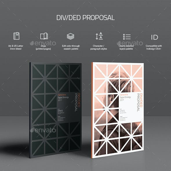 Divided Proposal Template