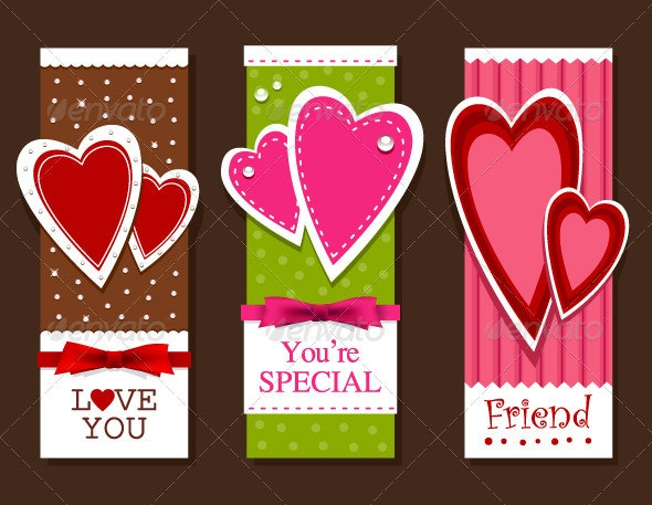 Valentines day postcards - Valentines Seasons/Holidays