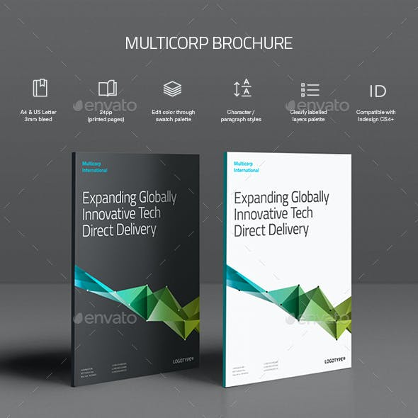 Multicorp Brochure Template