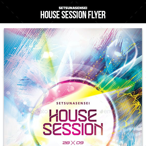 House Session Flyer