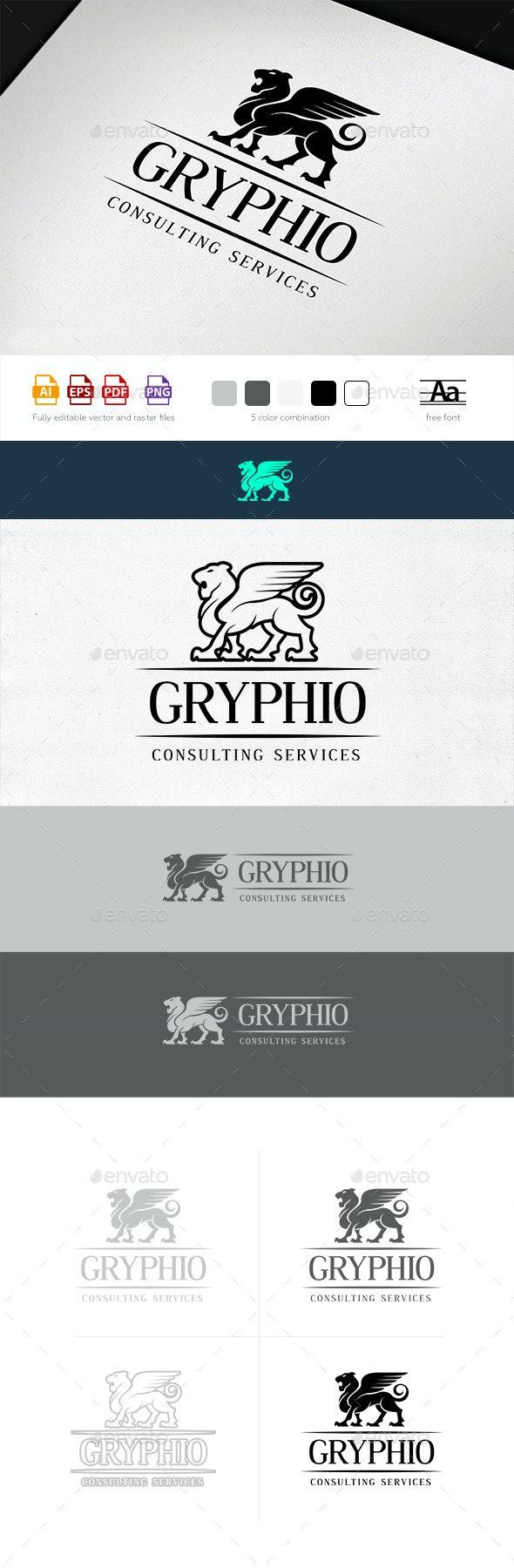 Gryphio Logo Template - Animals Logo Templates