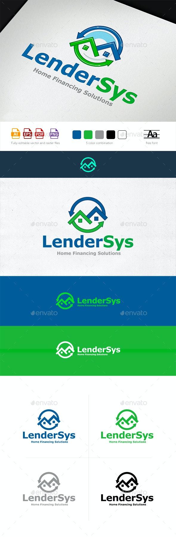 Lender Logo Template - Buildings Logo Templates