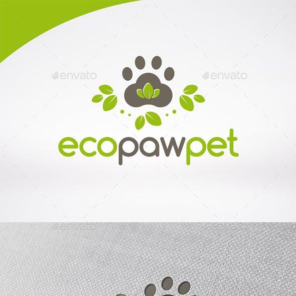 Eco Pet Logo Template