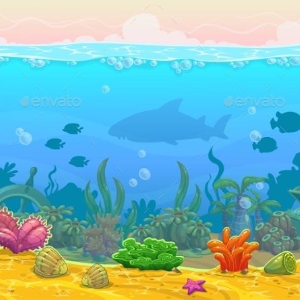 Underwater Seamless Landscape
