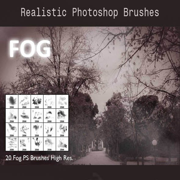 20 Fog PS Brushes