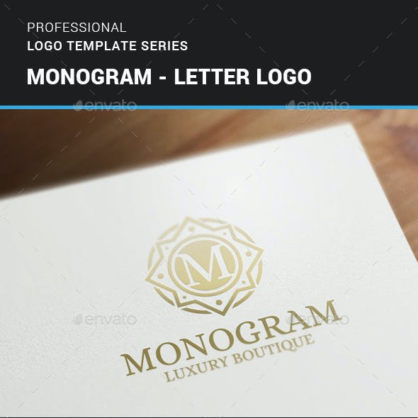 Monogram - Letter Logo