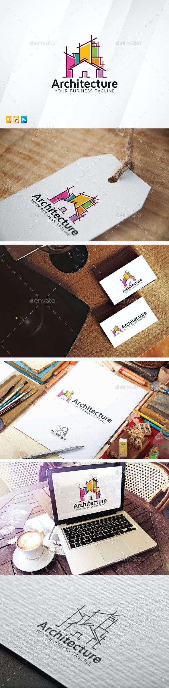 Architecture Logo - Buildings Logo Templates